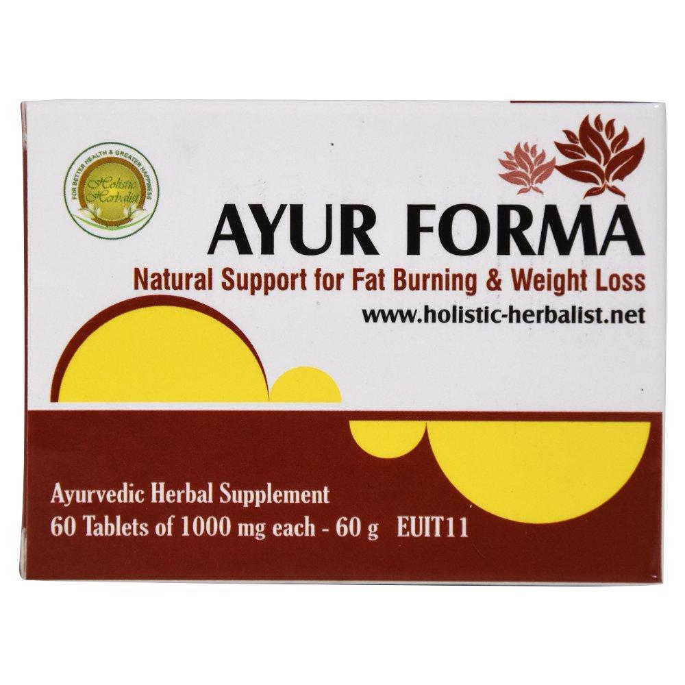 Аюр Форма (Holistic Herbalist) - аюрведа преміум (зниження надмірної ваги), 60 таблеток