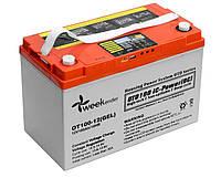 Гелевый аккумулятор Weekender 100Ah 12V c дисплеем