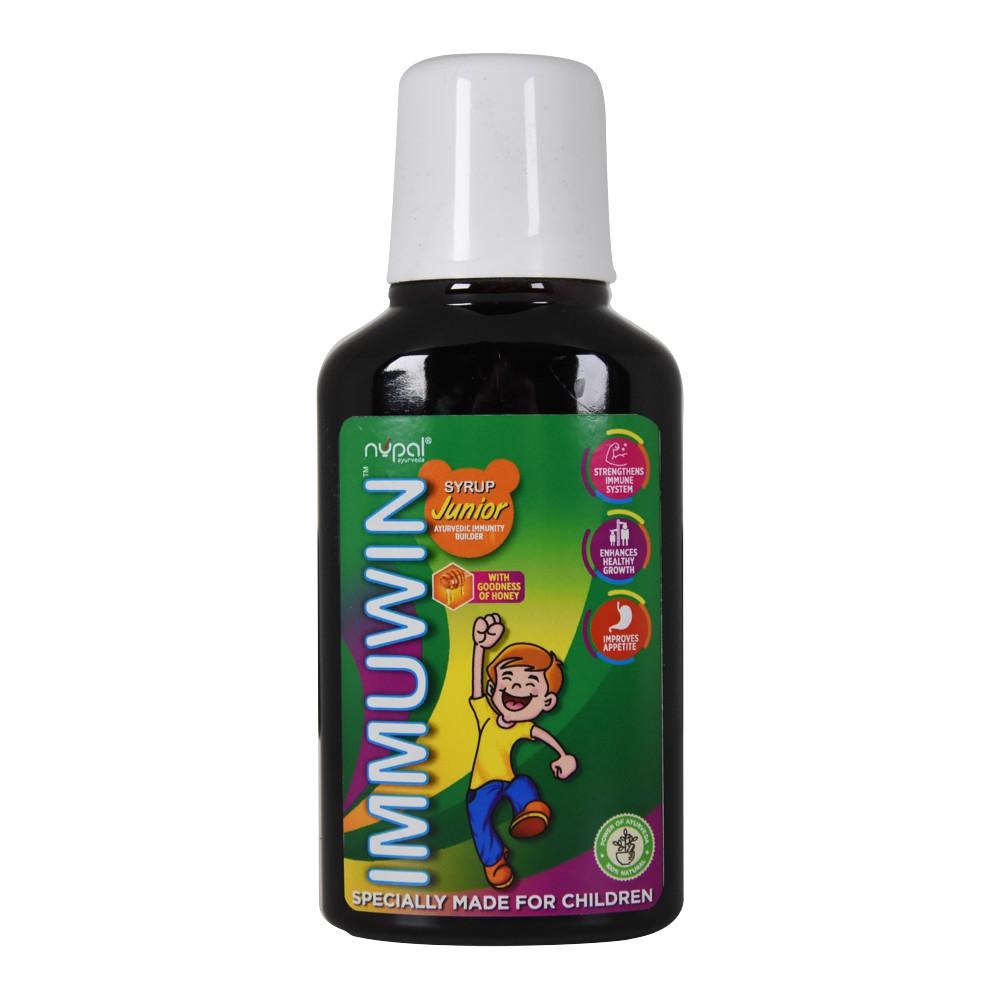 Иммувин Cироп Джуниор (Nupal Remedies), 250 мл - иммуностимулятор и противовирусное средство
