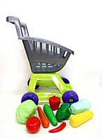 Игрушечная тележка с овощами KINDERWAY (36-003)
