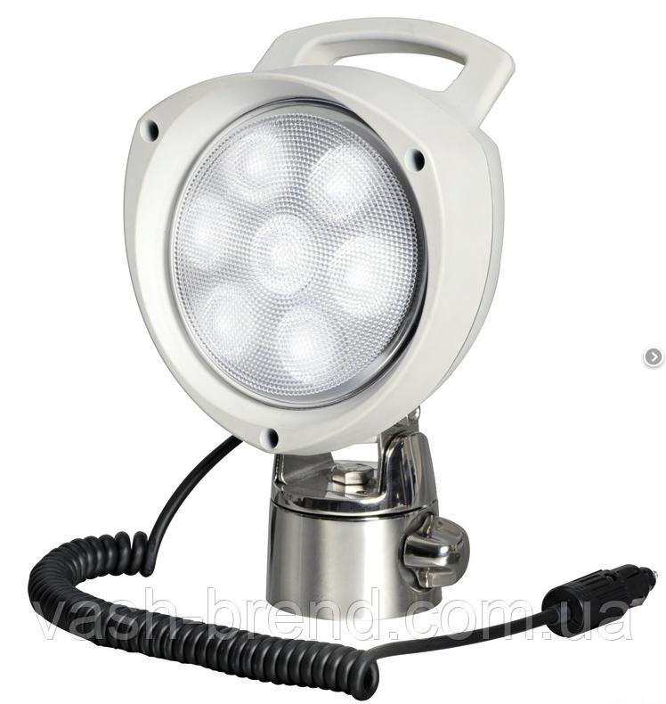 Прожектор світлодіодний 7х3w,12/24v, шарнірне кріплення