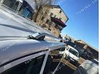 Рейлинги на крышу Volkswagen T5 2003-2015 цельно-алюминиевые , фото 6
