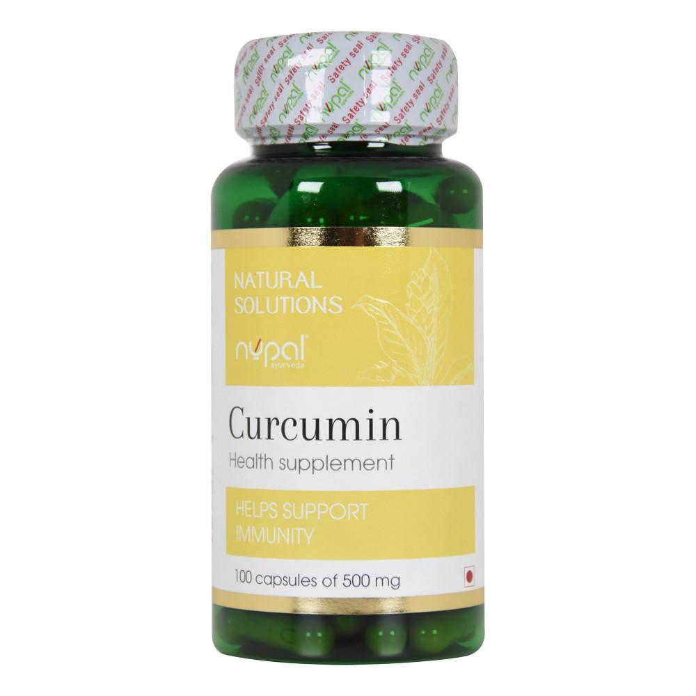 Куркумин, 100 капсул (Nupal Remedies) - Аюрведа класса премиум