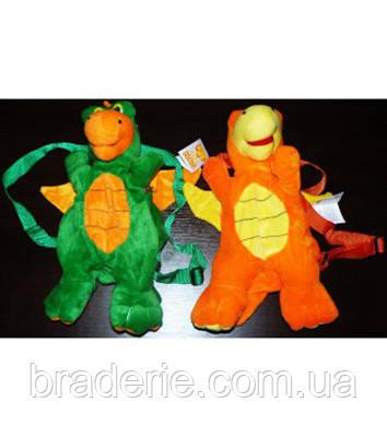 Мягкая игрушка-рюкзак Дракон 28 см 0305-28