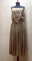 Платье-сарафан ажурное миди , фото 1