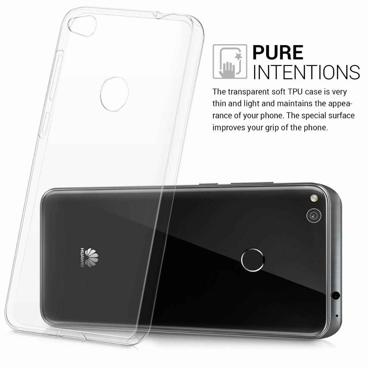 Силиконовый чехол для Huawei P8/P9 Lite 2017