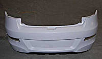Бампер задний (хечбек) Оригинал Чери Заз Форза А13 / Chery Zaz Forza A13 J15-2804500-DQ