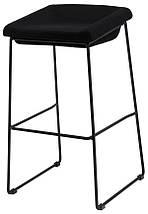 Барный стул Coin черный TM Concepto, фото 2