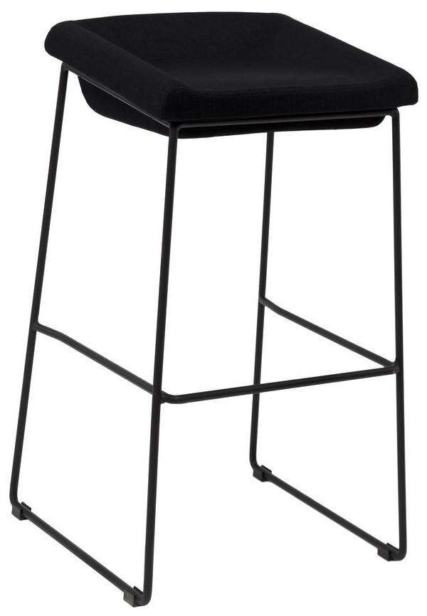 Барный стул Coin черный TM Concepto