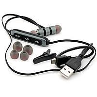 Навушники Bluetooth гарнітура Walker WBT-11 Сірий