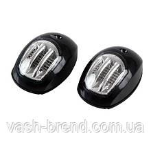 Пара навигационных огней LED черный корпус