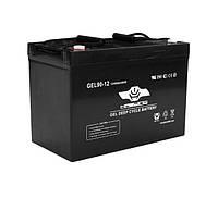 Гелевый аккумулятор Haswing 90Ah 12V, вес-27,5кг 90Ah gel H