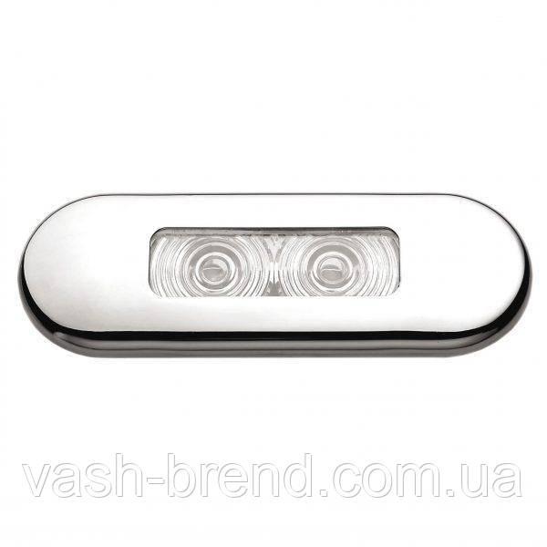 Палубный светильник ААА 00159-SSWH 0,4Вт 85,8х30,8 мм