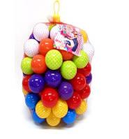 Набор мягких разноцветных шариков Kinderway 40штук (02-412)