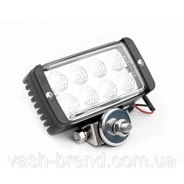 ЛЭД лампа LED624, свет 30луч/60рассеивание, 1500Lm, 8х3 Вт