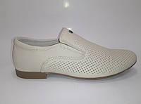 Мужские кожаные летние туфли ТМ Kangfu, фото 1