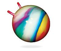 М'яч для фітнесу з ріжками, d-55см, BAMSIC, 0211