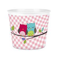 Відерце для попкорну та снеків Owls, TM Titiz Plastik AP-9225-OW