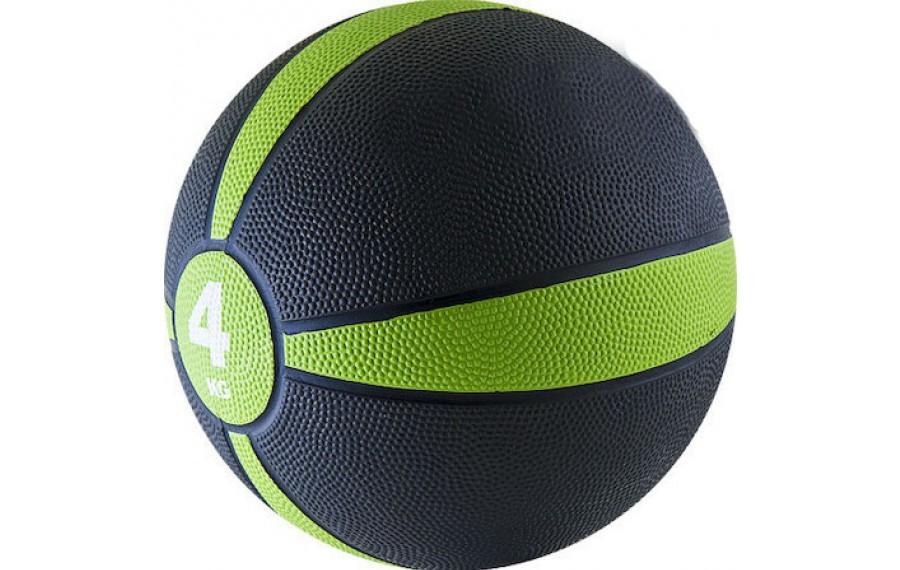 Мяч медицинский (медбол) 4кг D=22см