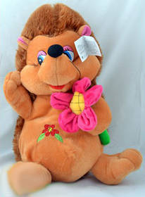 Мягкая игрушка озвученная Ёж 1095-33