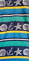 Пляжное полотенце велюр-махра