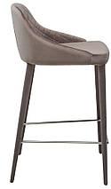 Барный стул Elizabeth серый TM Concepto, фото 2