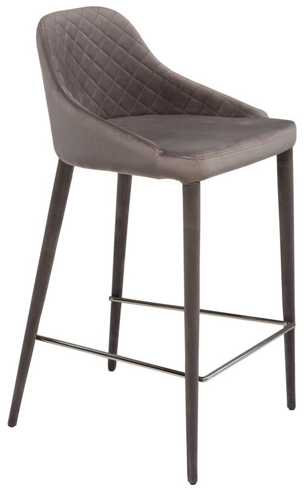 Барный стул Elizabeth серый TM Concepto