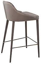Барный стул Elizabeth серый TM Concepto, фото 3