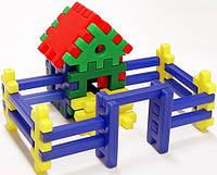"""Конструктор-пазл для малышей Toys Plast """"Теремок"""" (ип.09.002)"""