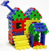 """Конструктор-пазл для малышей Toys Plast """"Домик Белоснежки"""" (ИП.09.005)"""