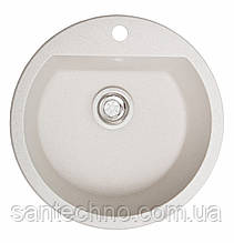 Врізна гранітна кругла мийка Galati Kolo