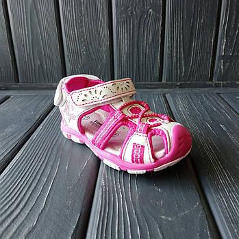 Сандалии - босоножки с закрытым носком от Tom.M девочкам, р. 25 (16 см)