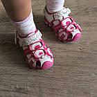 Сандалии - босоножки с закрытым носком от Tom.M девочкам, р. 25 (16 см), фото 2