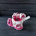 Сандалии - босоножки с закрытым носком от Tom.M девочкам, р. 25 (16 см), фото 3