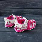 Сандалии - босоножки с закрытым носком от Tom.M девочкам, р. 25 (16 см), фото 7