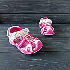 Сандалии - босоножки с закрытым носком от Tom.M девочкам, р. 25 (16 см), фото 6