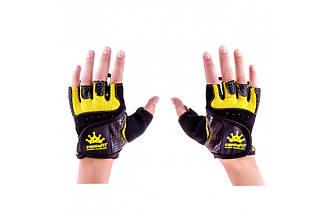 Перчатки для фитнеса CrownFit Grippy RX-04