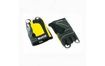 Перчатки для фитнеса,велоспорта Matsa желтый M
