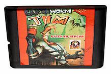 Картридж сега Earthworm Jim 2