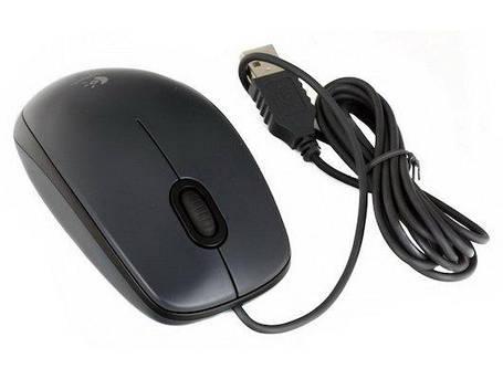 Проводная мышь (мышка) Logitech M90 USB Grey (910-001794) , фото 2