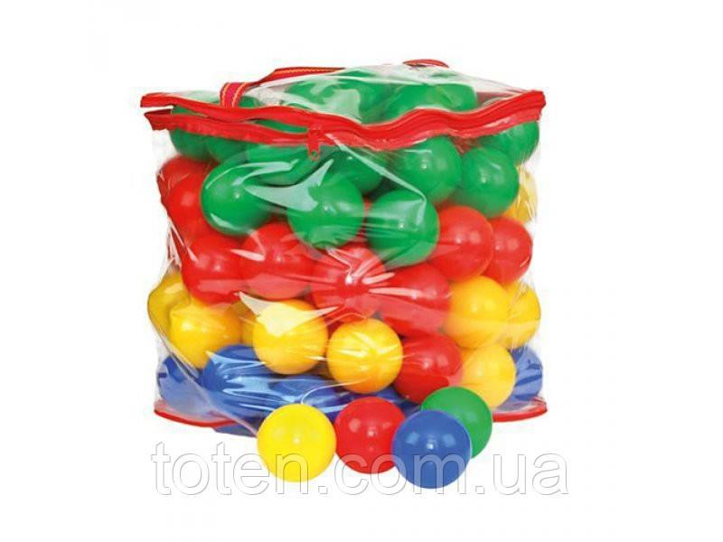 """Шарики мячики 5876  для сухого бассейна, для палаток, 6,5 см. Количество шариков 160 шт. - Интернет - Магазин """"Детки - Конфетки"""" в Харькове"""
