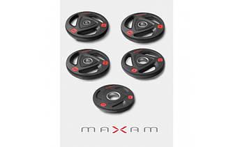 Олимпийские диски Maxam 2,5-5-10-15-20 кг
