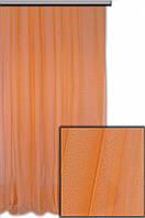 Гипюр Итальянский  (Турция) Бледно морковный №024