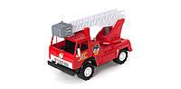 Пожарная машина Х2 ОРИОН (406x200x253 мм), с каской 027в.2