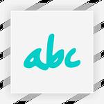 Надписи, буквы, логотипы