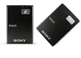 Акумулятор, батарея Sony BA600 ST25i LT26i Xperia U АКБ