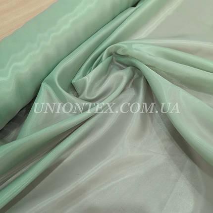 Подкладочная ткань нейлон 170Т бледно--зеленый, фото 2