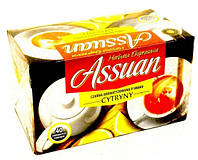Assuan Cytryny черный чай с лимоном, 40 шт. Польша