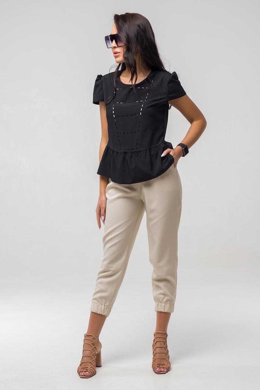 """Женские укороченные брюки """"Лесли 1"""""""