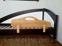 """Бортик деревянный для детской кровати """"Машинка""""  (цвет на выбор) 90 см., фото 2"""